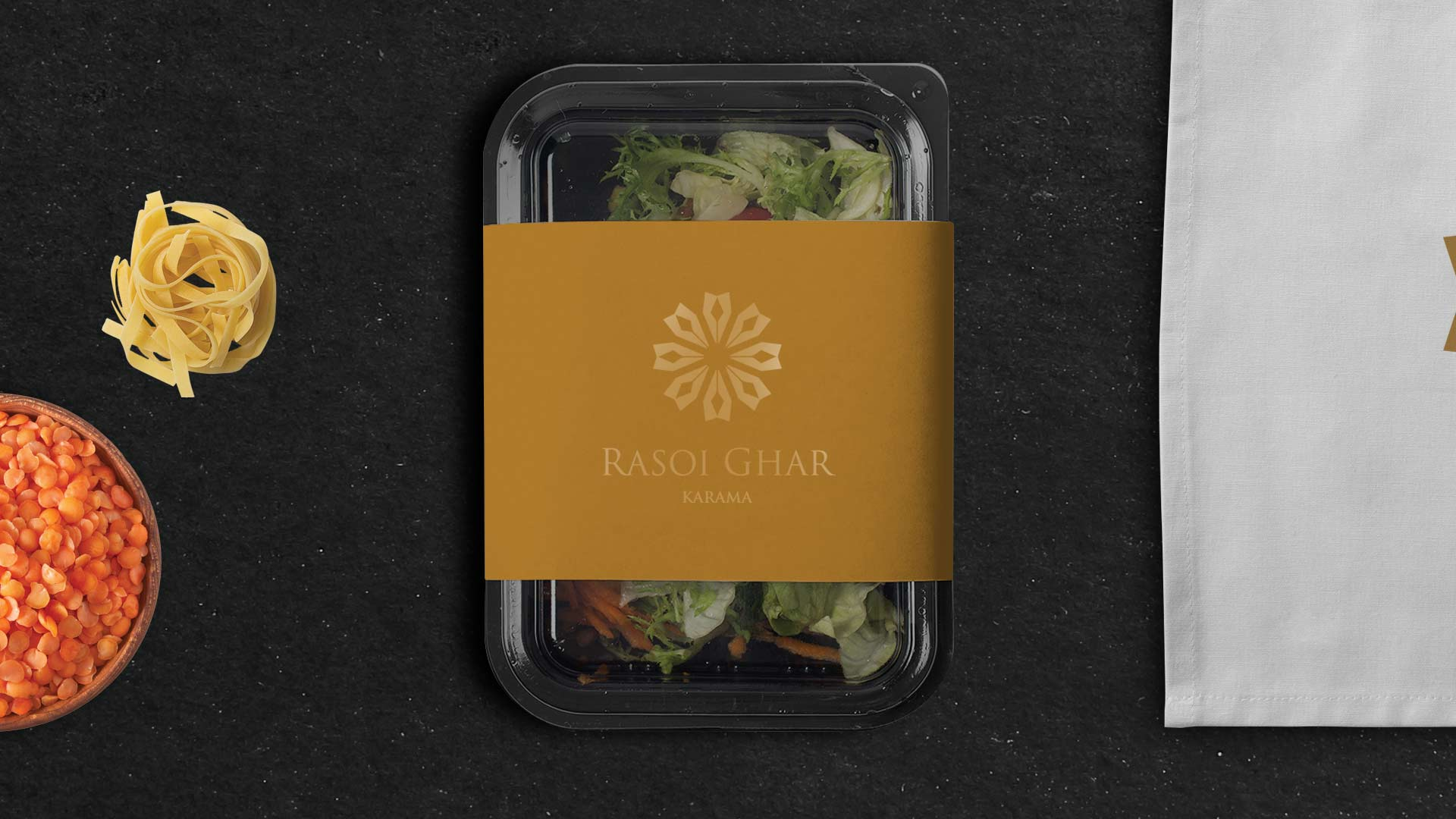 Restaurant Branding for Rasoi Ghar - featured, food package design