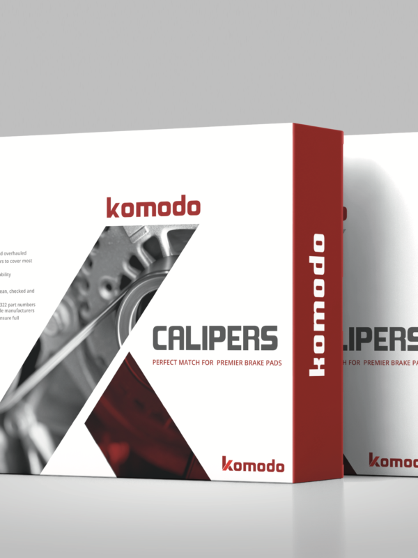 Package Design as part of Branding of Komodo